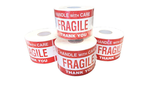 Fragile Stickers - 500 count