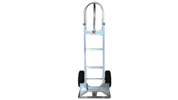 Liberator Aluminum Hand Truck - Cutout Nose Plate- n-n-moving-supplies.myshopify.com
