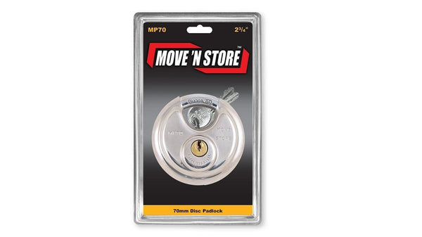 Lock Move 'N Store MP70 70mm Round Pad Lock