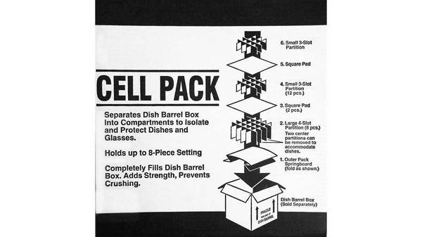 Packing Supplies Cell Kit Dish Pack Divider