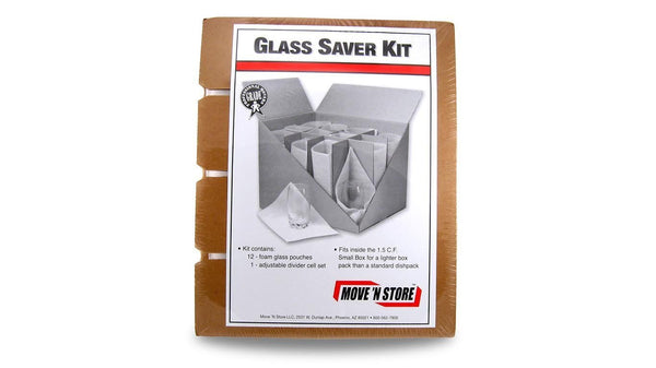 Packing Supplies Glass Saver Kit for Small Box