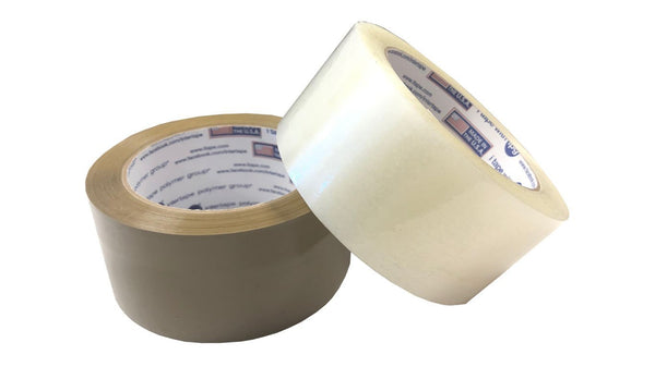"Packing Tape Clear Packing Tape 2"" x 55 or 110 Yard - Case of 36 Rolls"