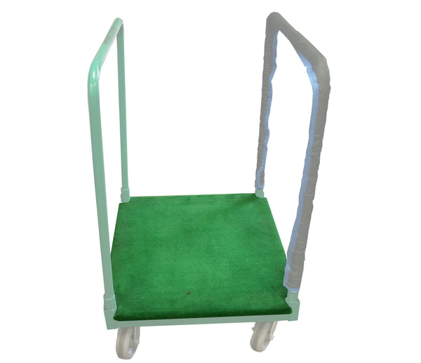 Platform Panel Cart Carpeted Base