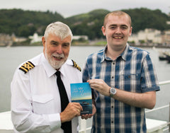 Mark Nicolson book launch Oban