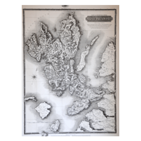 Historical Map of Skye - Islands Book Trust