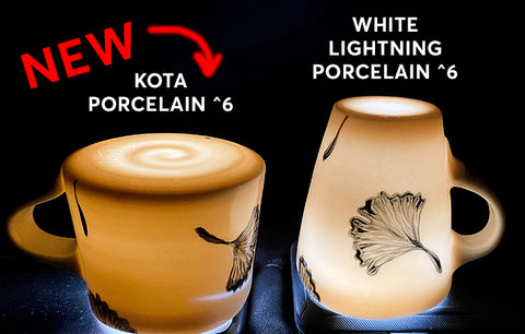 Kota Porcelain LIMITED RELEASE Cone 5-6