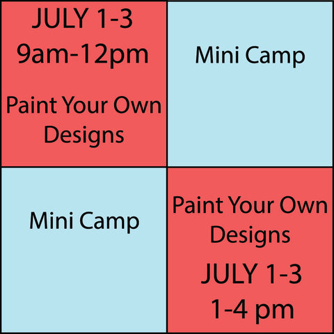 Kids Camp Session 3 July 1-July 3