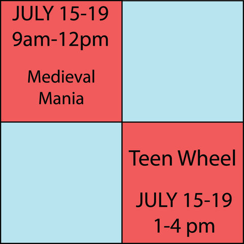 Kids Camp Session 5 July 15-July 19