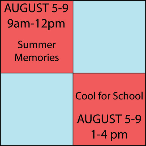 Kids Camp Session 8 August 5-August 9