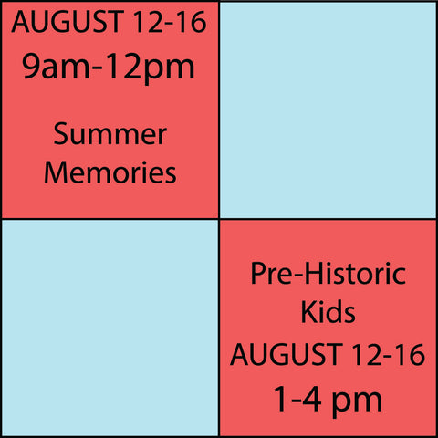 Kids Camp Session 9 August 12-August 16