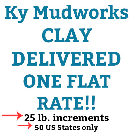 Ky Mudworks 25# Clay Delivered!