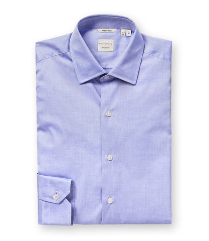 Cassia Cashmere Touch Ultra Soft Check Shirt - Blue