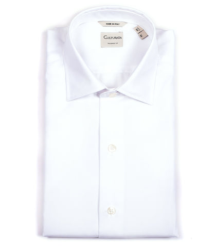 Crease Free Men's White Shirt