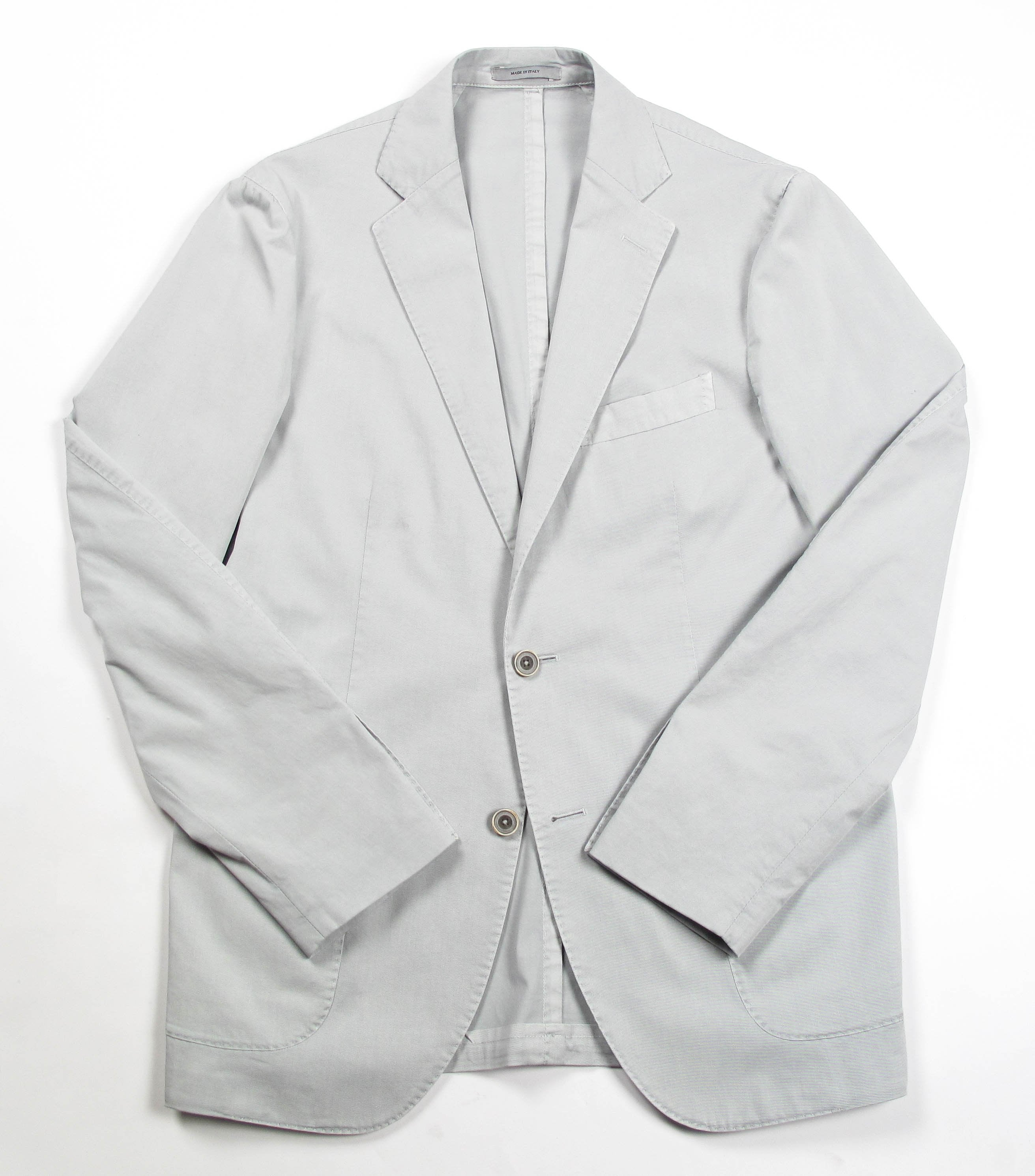 Extra Comfort Stretch Cotton Blazer - Grey