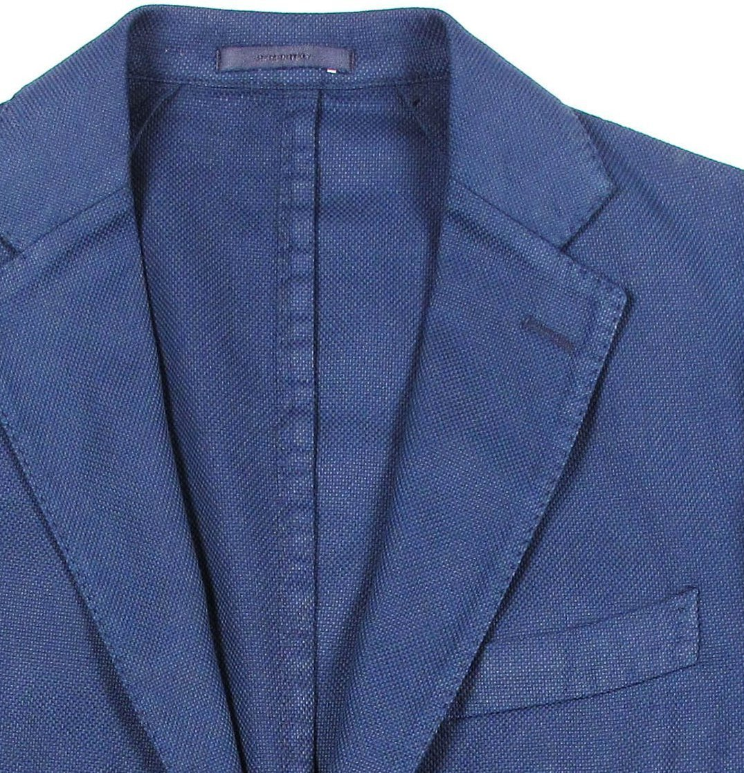 Cotton Blazer - Navy