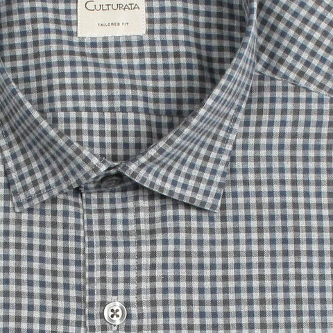 Soft Touch Cotton Gingham - Blue