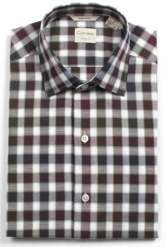Softest Cotton Gingham Men's Shirts