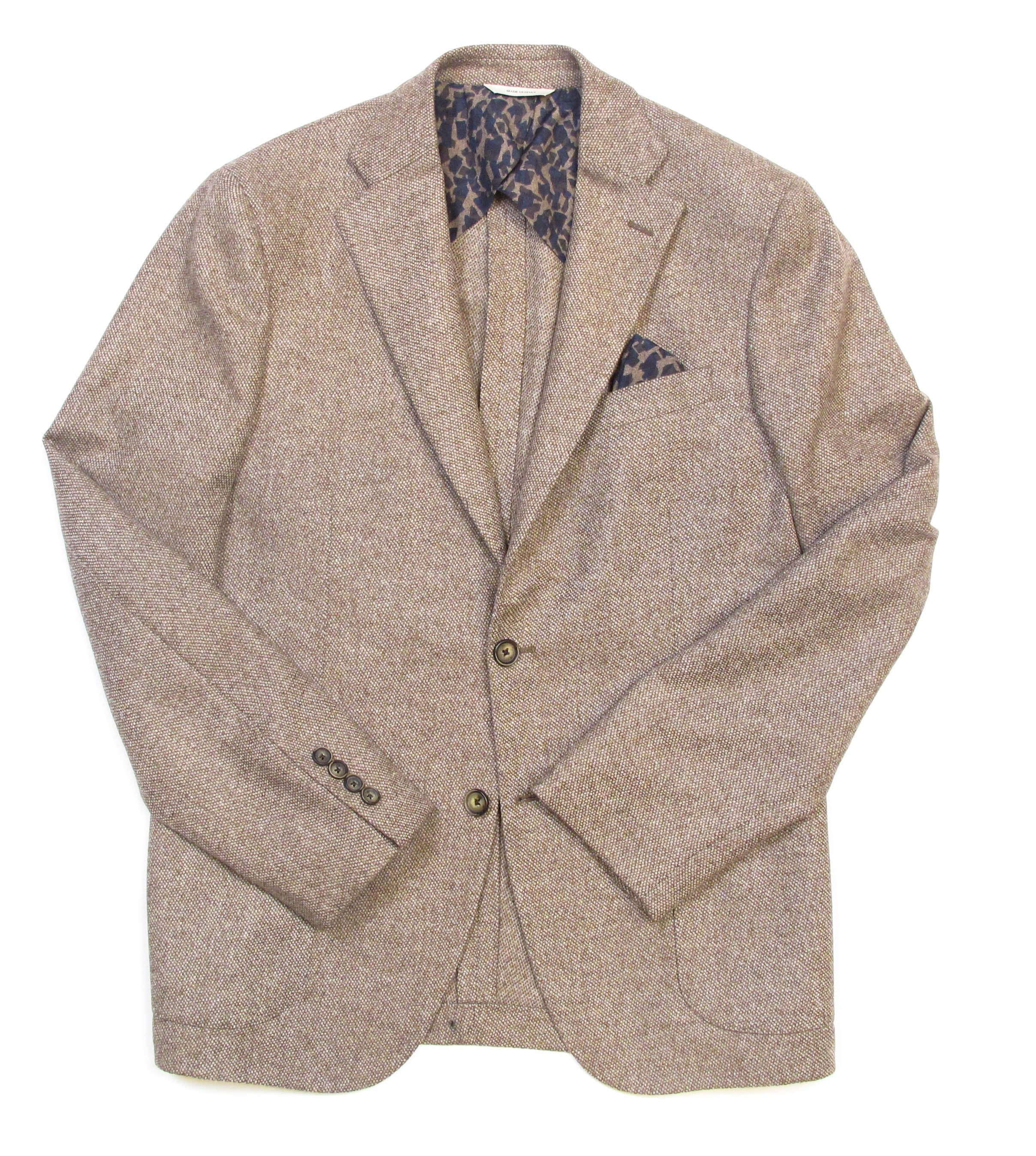 Italian Cashmere Jacket - Brown