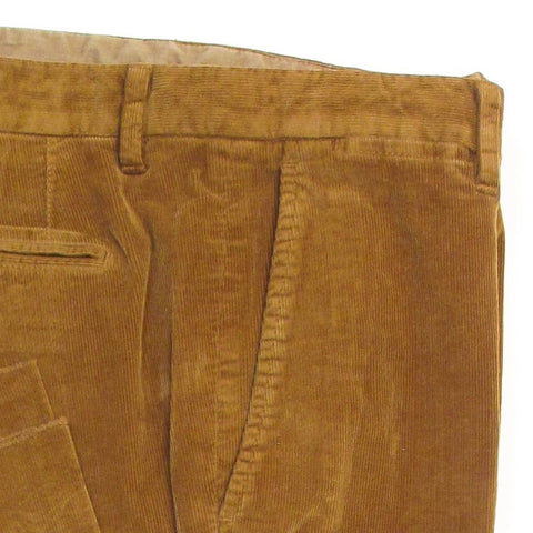 Stretch Corduroy Pants - Tan