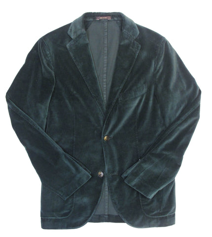 Italian Donegal Jacket - Blue