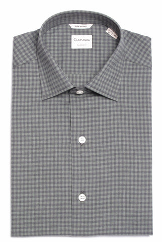 Extra Soft Cotton Check - Green