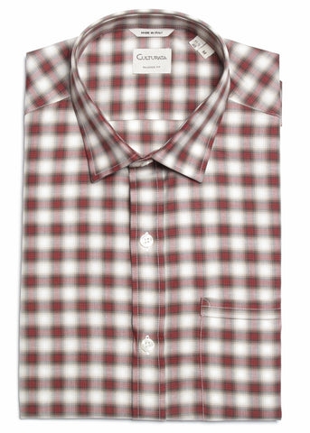 Cashmere Cotton Plaid - Red