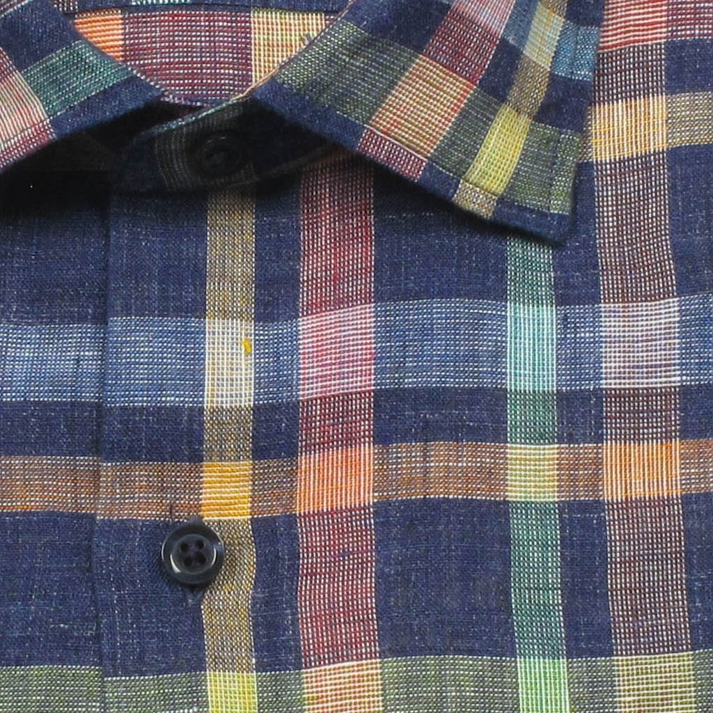 Extra Soft Washed Linen Plaid
