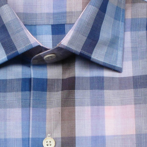 Cotton Plaid - Blue