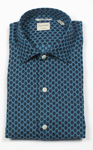 Extra Soft Washed Double Face Print Shirt
