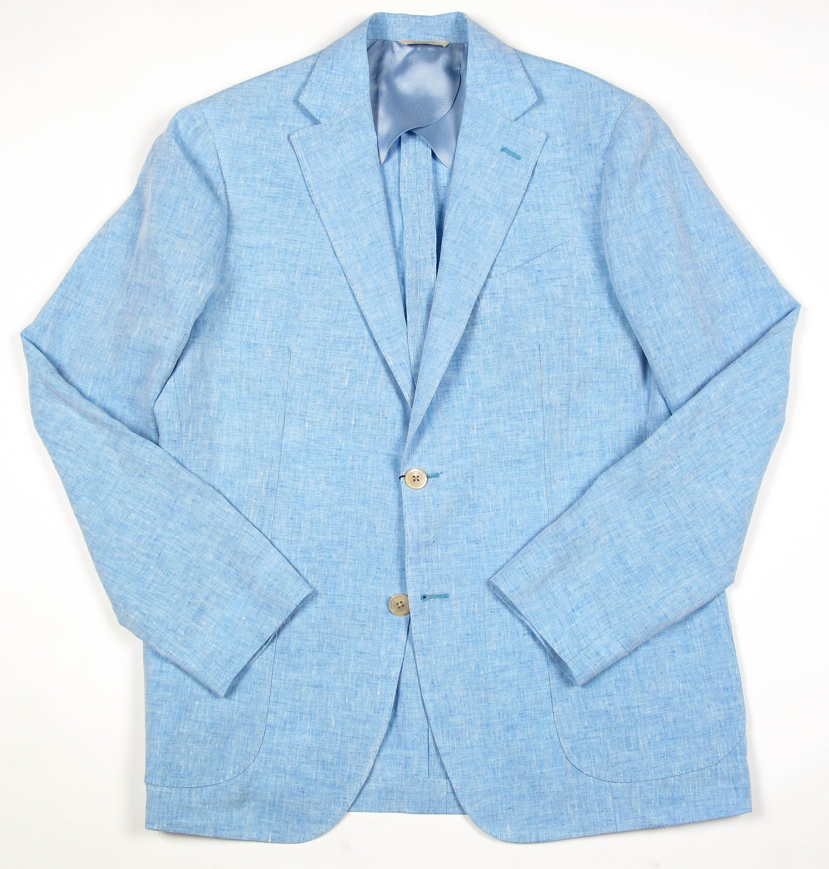 Soft Washed Tailored Linen Jacket