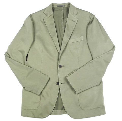 Jacket - 2 Button Solid - Light Blue