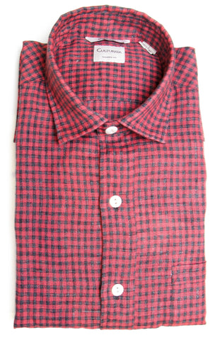 Gingham Extra Soft Linen - Red