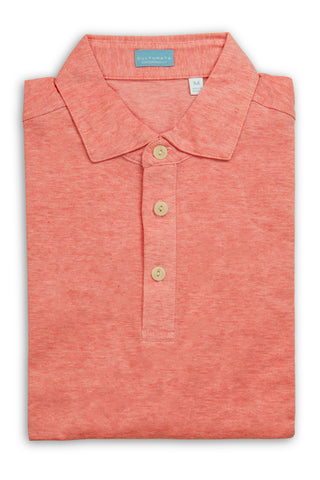 Soft Cotton Short Sleeve Polo - Lilac