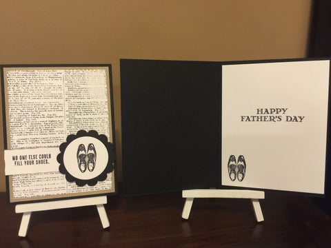 Father's Day Shoes Card