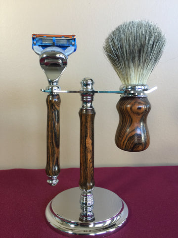 Razor, Brush and Stand Set - Fusion Razor