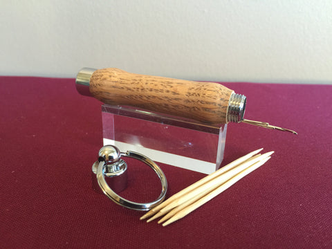 Toothpick/Needle Holder - Key Ring