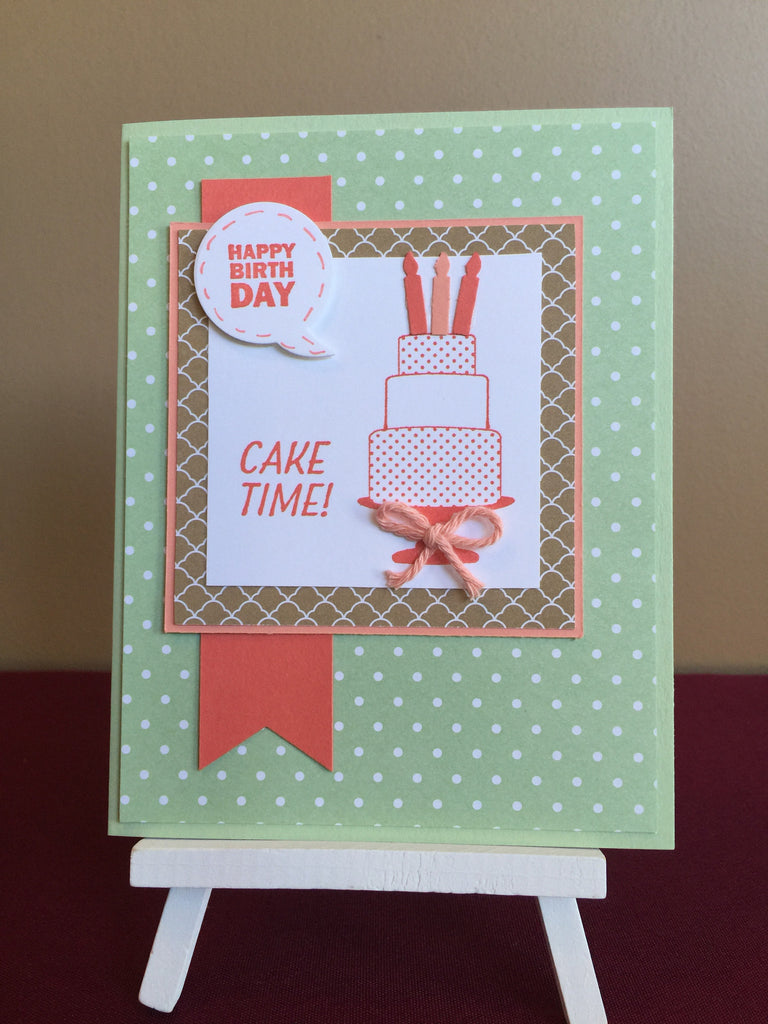 Cake Time Birthday Card