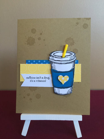 Coffee Lover Greeting Card