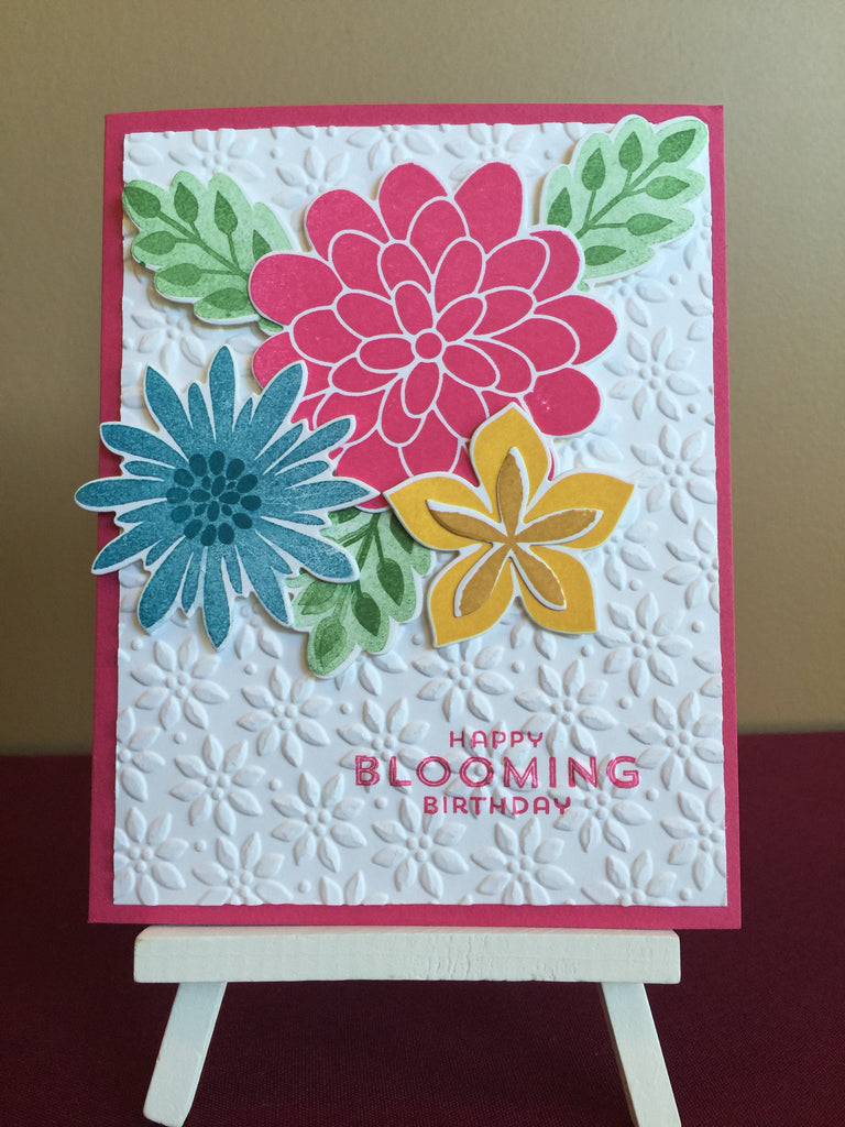 Blooming Birthday Card