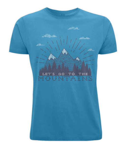 Let's Go to the Mountains T Shirt