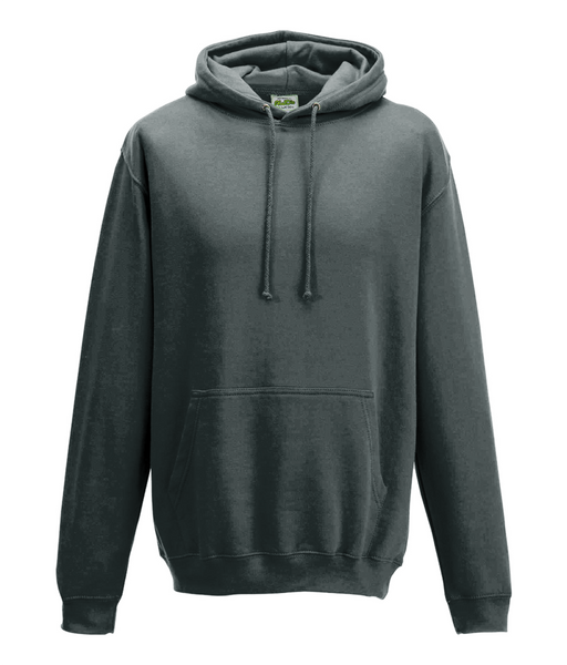Men's Cross Hoodie Grey
