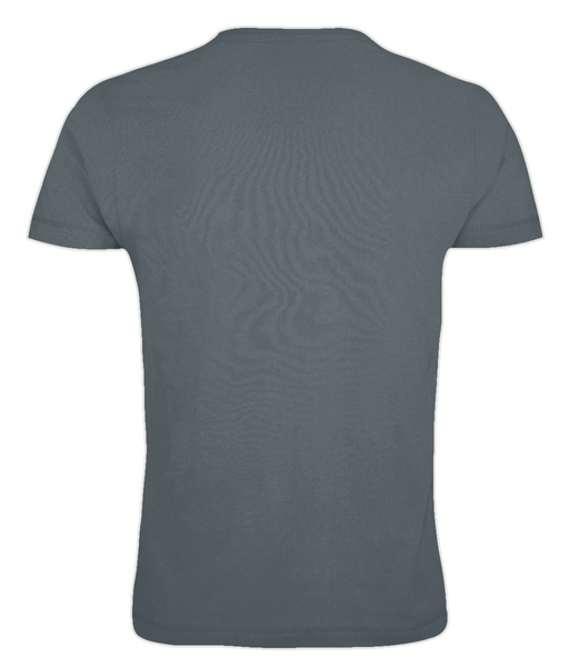 Men's Bear T Shirt Charcoal Grey
