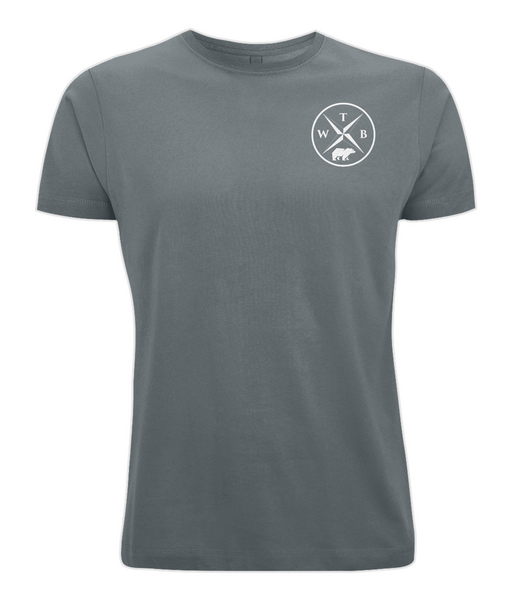 Men's Compass T Shirt Grey
