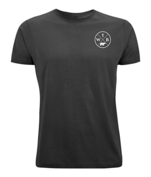 Men's Cross T Shirt Black
