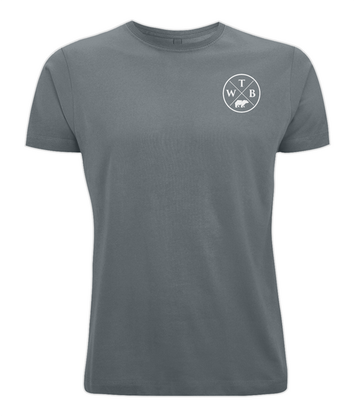 Men's Cross T Shirt Grey