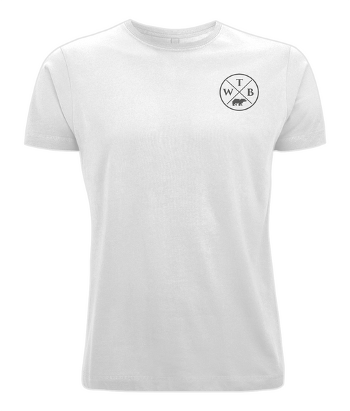 Men's Cross T Shirt White
