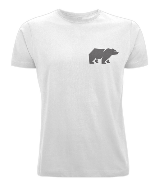 Men's Bear T Shirt White