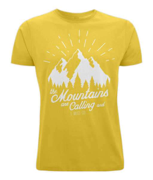 Mountains Are Calling T Shirt