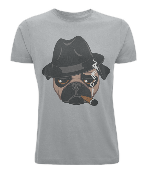 Gangster Pug T Shirt