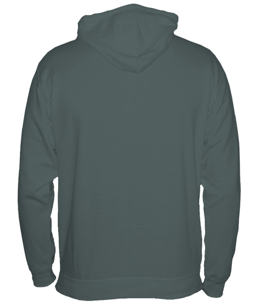 Women's Compass Hoodie Chest Logo Grey